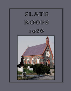 The Slate Roofs 1926 cover