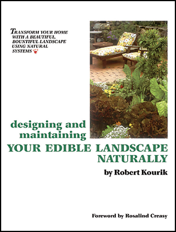 The Designing and Maintaining Your Edible Landscape Naturally cover