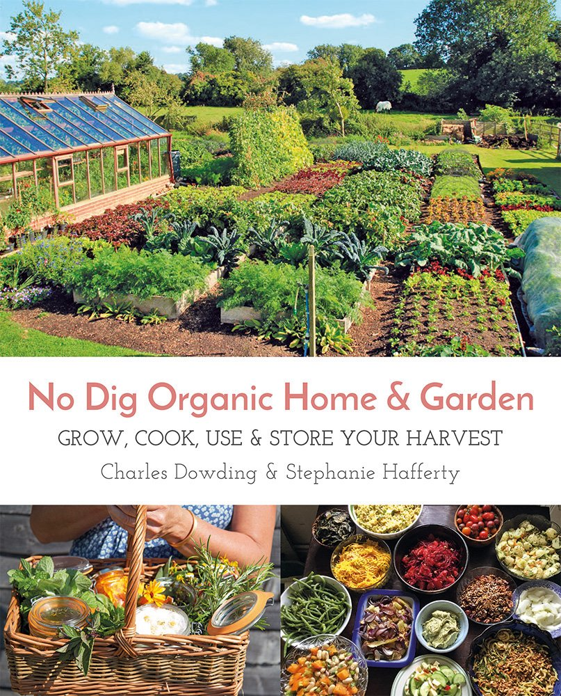 The No Dig Organic Home & Garden cover