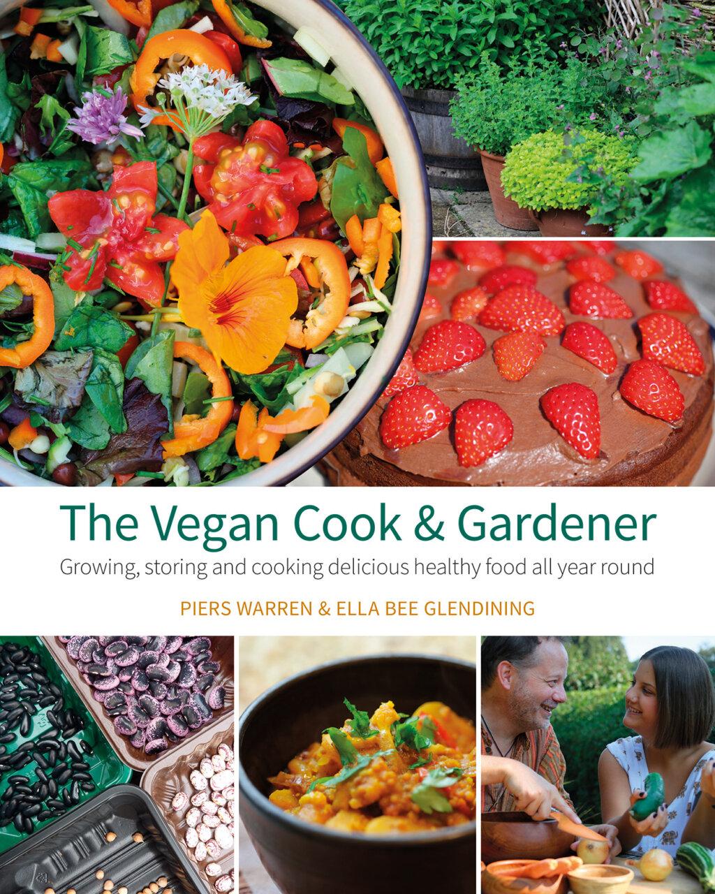 The Vegan Cook & Gardener cover