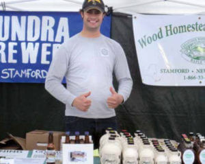 Mark VanGlad of Tundra Brewery produces a MaPale Ale with the maple syrup, grains, and hops grown on his farm in the Catskills. Because he produces all the ingredients himself, he is able to sell the majority of his beer at producer-only greenmarkets in New York City.