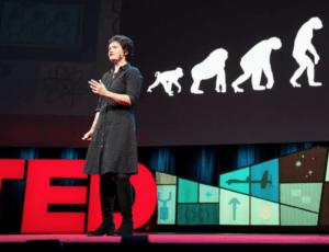 Kate Raworth [Photo: Bret Hartman/TED]