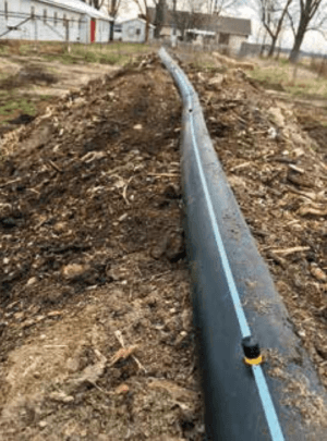 tubing for water compost