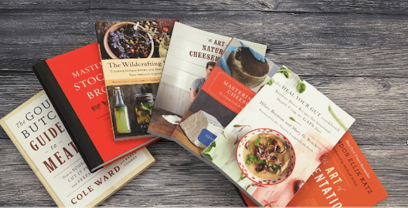 Cover images of cookbooks