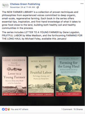 The New Farmer Series Covers
