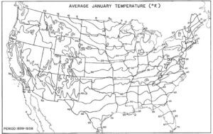 average january temperature