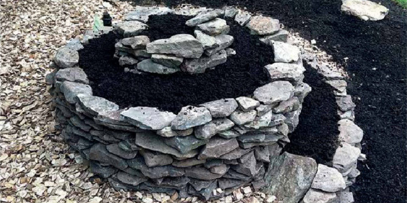 The Ultimate Raised Bed How To Make An Herb Spiral Chelsea