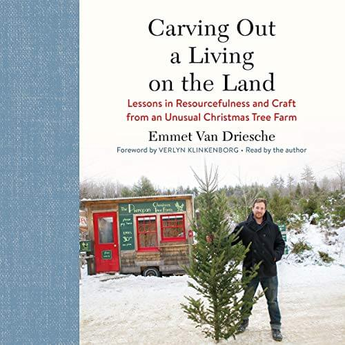 carving out a living on the land audiobook cover