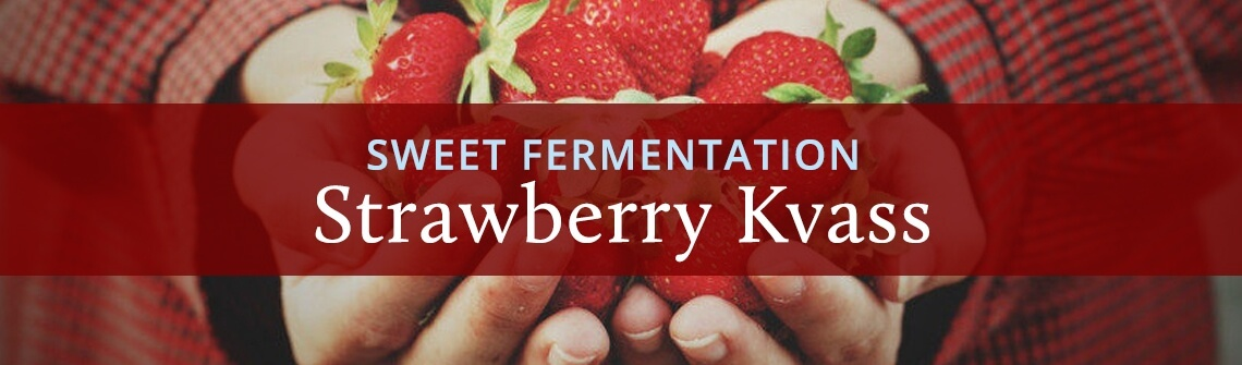 Strawberry Kvass