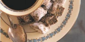 okra marshmallows and coffee
