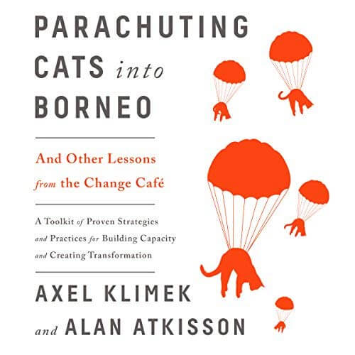 parachuting cats audio cover